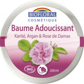 Softening Balm Shea butter, Argan & Damascus Rose, COSMEBIO* - pot 200 ml   Inula