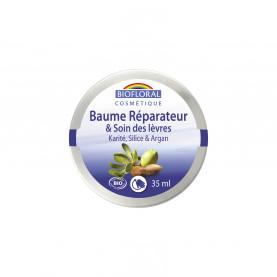 Repairing Balm and Lip care - Shea butter, Silica & Argan, COSMEBIO* - pot 35 ml   Inula