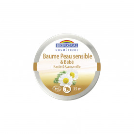 Sensitive Skin Balm Shea butter & Chamomille, COSMEBIO* - pot 35 ml   Inula